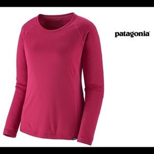 Patagonia Hot Pink Capilene Dry Fit Shirt🎉Small